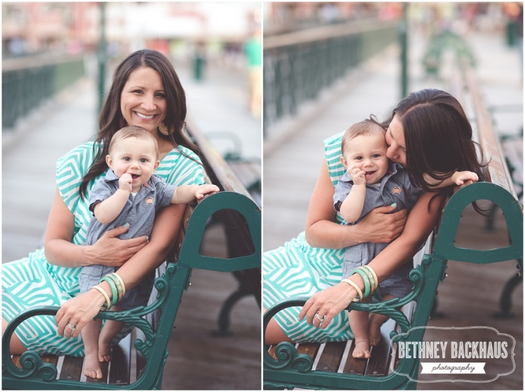 Mom and baby with central florida family photographer