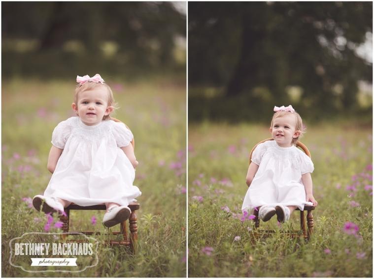 little girl smiles for her session for mount dora photographer