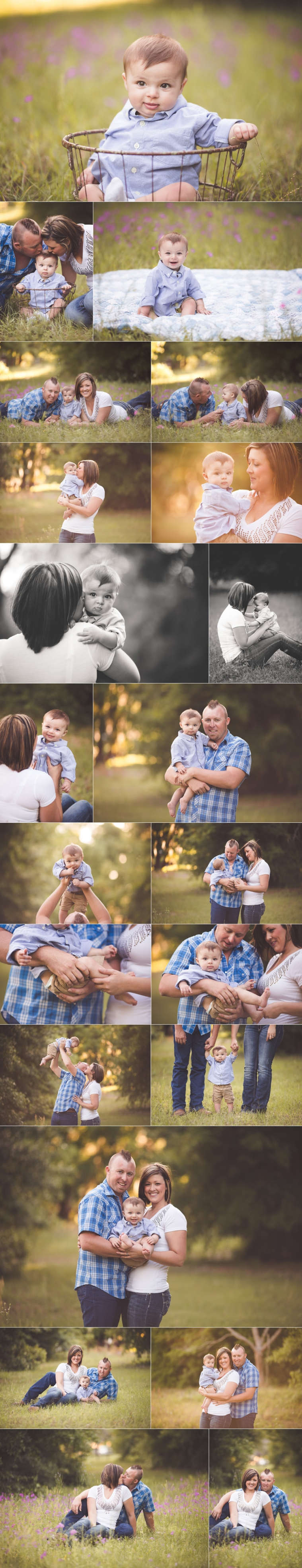 Orlando family photographer session 6 month old