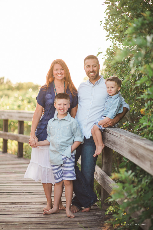 Vpinimagev family of 4 sunset beach session orlando family photographer