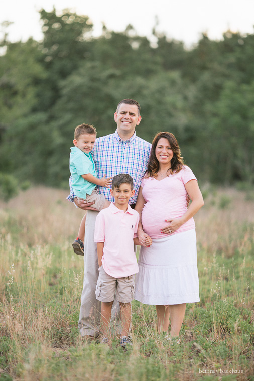 Maternity Photographer Orlando FL | Spring Family Photos