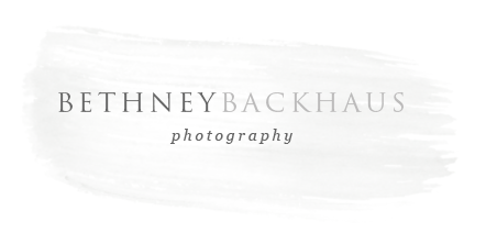 Orlando Newborn Photography | Bethney Backhaus Photography logo